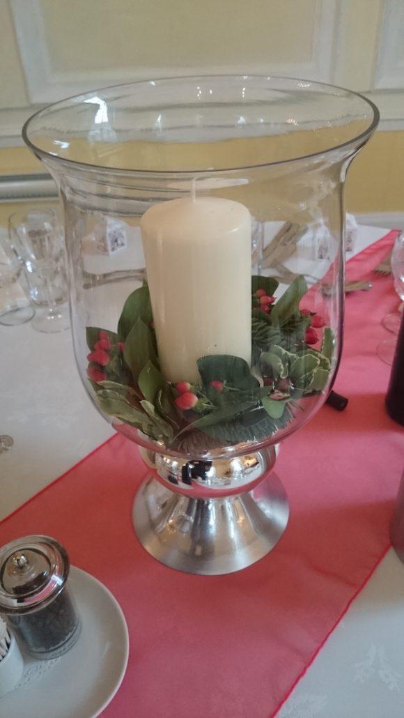 Hurricane vase Large
