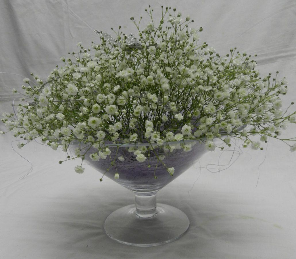 Low Martini vase
