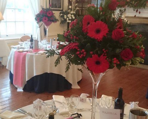 Martini vase 60 cm at Hemswell Court