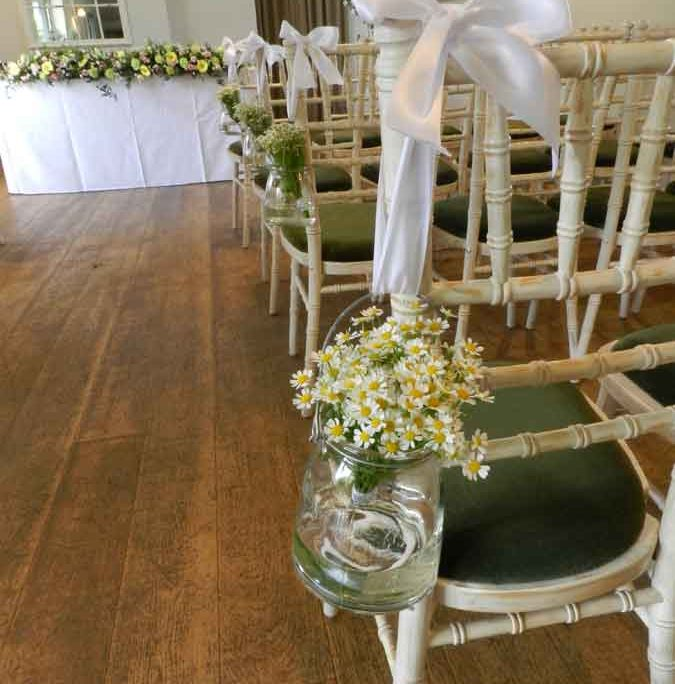 Beautiful wedding flowers in Lincoln
