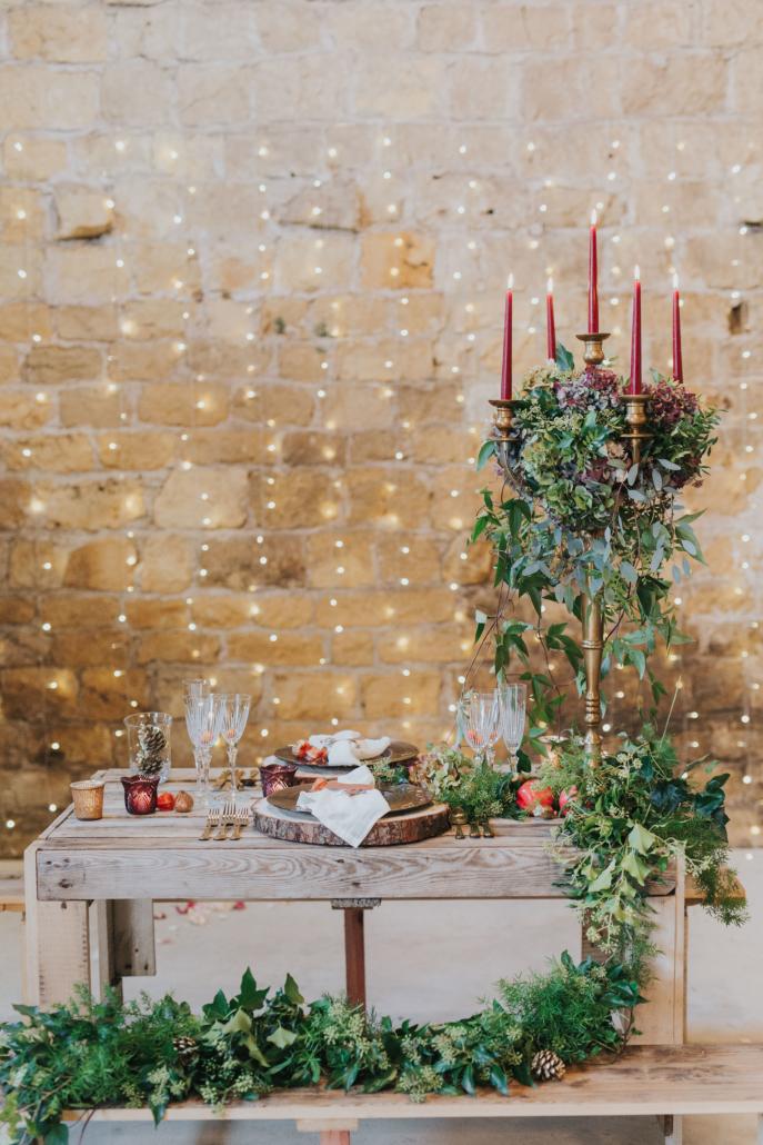 CastleBarn Rustic candelabra