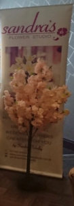 150cm Champagne blossom tree £30